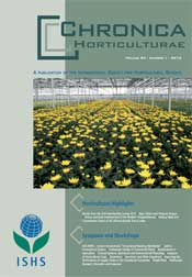Chronica Horticulturae 53 number 1 (March 2013)