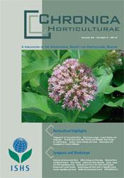 Chronica Horticulturae 53 number 2 (June 2013)