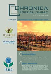 Chronica Horticulturae volume 54 number 2 (June 2014)