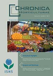 Chronica Horticulturae Volume 54 Number 3