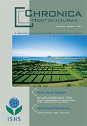 Chronica Horticulturae Volume 55 Number 1