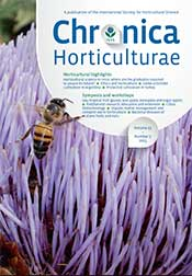 Chronica Horticulturae Volume 55 Number 2