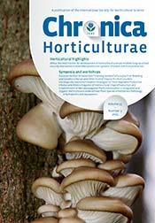 Chronica Horticulturae Volume 55 Number 3
