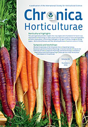 Chronica Horticulturae Volume 56 Number 4