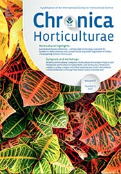 Chronica Horticulturae Volume 57 Number 1