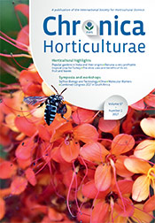 Chronica Horticulturae Volume 57 Number 2
