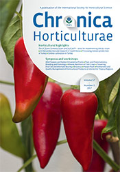 Chronica Horticulturae Volume 57 Number 3