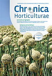 Chronica Horticulturae Volume 57 Number 4