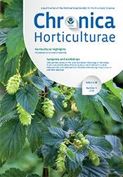 Chronica Horticulturae Volume 58 Number 4