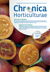 Chronica Horticulturae Volume 59 Number 4