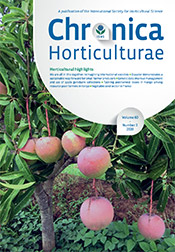 Chronica Horticulturae Volume 60 Number 3