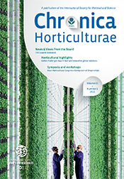 Chronica Horticulturae Volume 61 Number 1