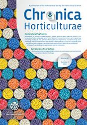 Chronica Horticulturae Volume 61 Number 3
