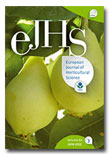 European Journal of Horticultural Science (eJHS)