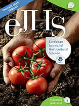 eJHS Volume 82/3 (June 2017) - Thematic Issue: Tomato