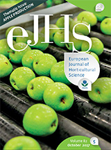 eJHS Volume 82/5 (October 2017) - Thematic Issue: Apple Production