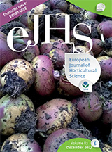 eJHS Volume 82/6 (December 2017) - Thematic Issue: Vegetable