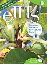 eJHS Volume 83/2 (April 2018) - Thematic Issue: Mediterranean Plants