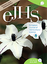 eJHS Volume 83/3 (June 2018) - Thematic Issue: Ornamentals