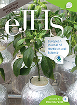 eJHS Volume 83/6 (December 2018) - Thematic Issue: Vegetables