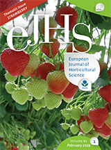 eJHS Volume 84/1 (February 2019) - Thematic Issue: Strawberry