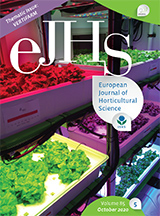 eJHS Volume 85/5 (October 2020) - Thematic issue: Vertifarm