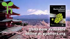 Journal of the Japanese Society for Horticultural Science now available in PubHort