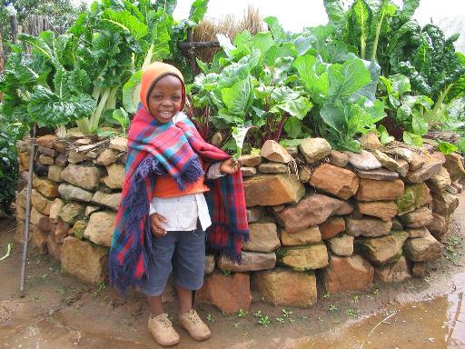 Keyhole Garden Grows Nutrition, Prosperity in Sudan
