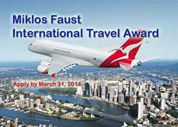 Miklos Faust Travel Award for Young Pomologists