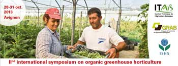 II International Symposium on Organic Greenhouse Horticulture