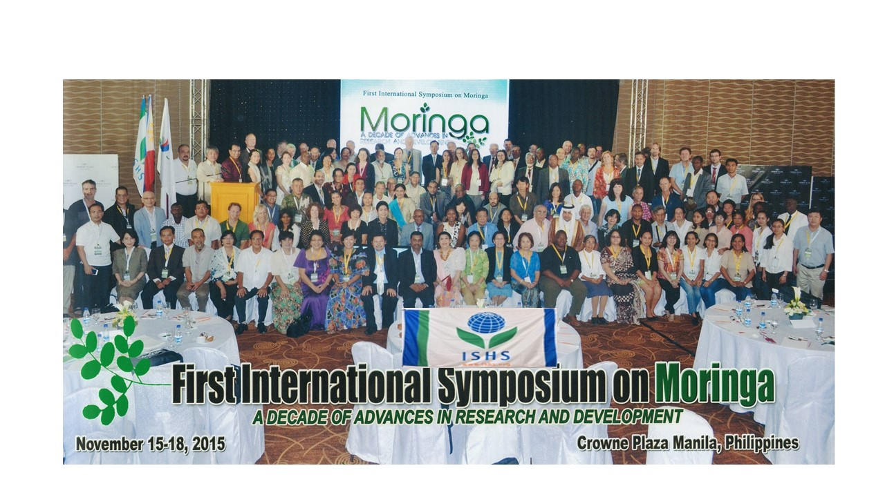 Group photo of delegates to the First International Symposium on Moringa