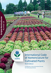 ICNCP - International Code for the Nomenclature for Cultivated Plants (9th edition)